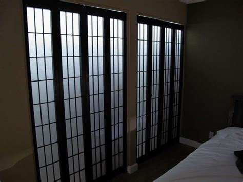 Shoji Screen Closet Doors Shoji Screen Closet Doors Diy For The Home Pinterest