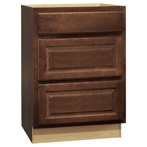 kitchen cabinet drawer glides hton bay hton assembled 24x34 5x24 in drawer base