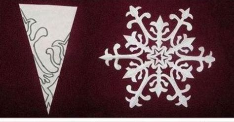 Make Fancy Paper Snowflakes - fancy snowflake patterns snow flacks