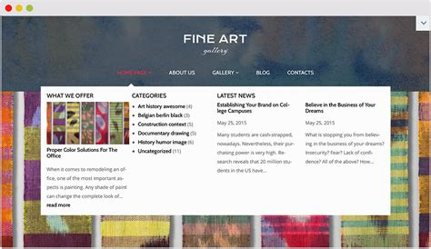 wordpress themes for gallery sites 25 amazing wordpress themes for artists textileartist org