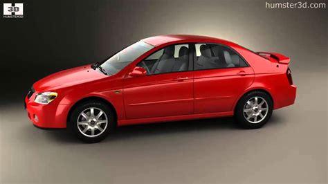 2004 Kia Models Kia Cerato Spectra Sedan 2004 By 3d Model Store