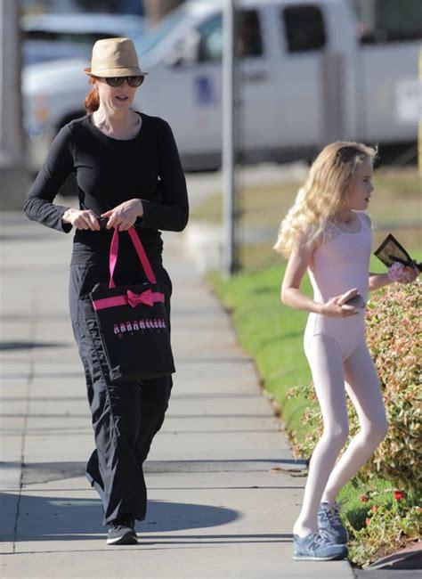 marcia cross mother marcia cross and daughter enjoy ballet class celeb baby