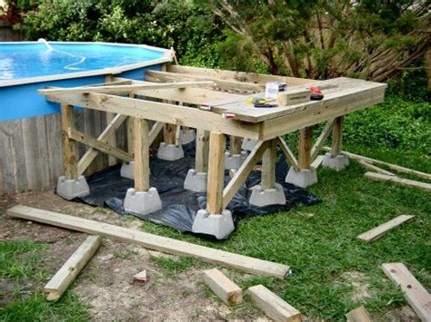 porch building plans above ground pool deck framing free do it yourself deck