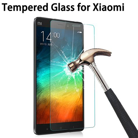 Tempered Glas For Xiaomi Mi4sscreen Protector Xiaomi Mi4s 2 5d 9h tempered glass screen screen protector for xiaomi ヾ ノ redmi redmi 3 3s 3x for