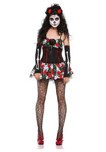 Day Of The Dead Halloween Costumes Dahlia Of The Dead Costume
