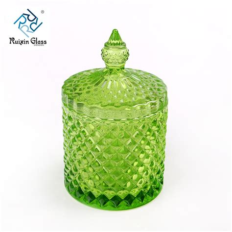 colored jars china wholesale colored candle jar with lid and colored