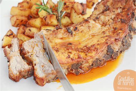 como cocinar costillas de cerdo al horno costillas al horno una receta f 225 cil pequerecetas