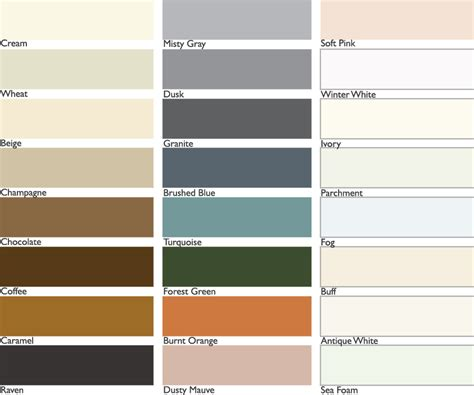 Polyblend Grout Renew Color Chart by Grout Color Chart Polyblend Grout Renew Color Chart