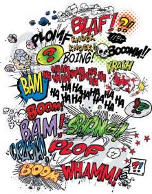 comics word explosion vector