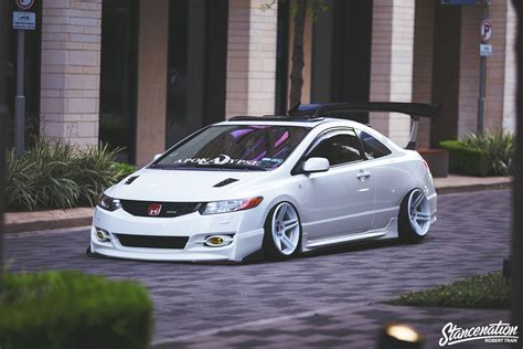 honda civic si modified straight flexin stevie phamo s 2006 honda civic