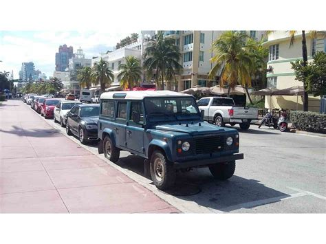 land rover for sale florida 1987 land rover defender for sale classiccars cc