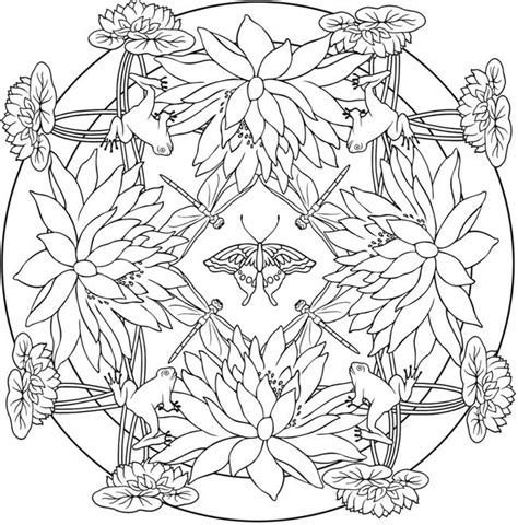 nature mandala coloring pages printable 1377 best coloring outside the lines images on pinterest