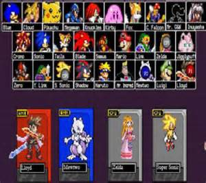Search results for juegos de super smash flash 2