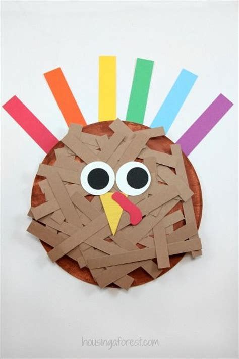 Paper Plate Turkey Crafts - 1000 images about housingaforest on crafts