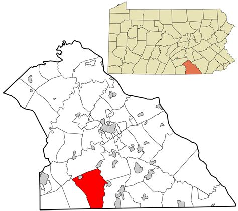 Pa Search York County File York County Pennsylvania Incorporated And Unincorporated Areas Codorus Township