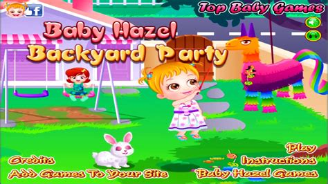 baby hazel backyard party baby hazel backyard party game review part 4 by top games