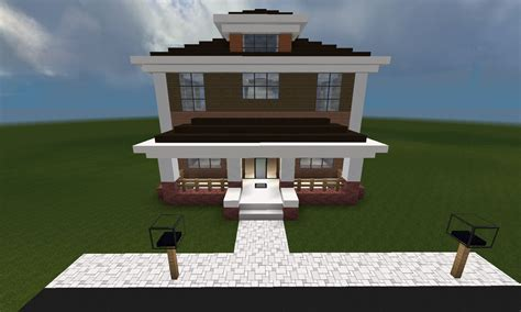 Awesome House Blueprints by Minecraft Huis Country House 461 Inclusief Map En
