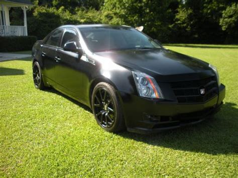 airbag deployment 2008 cadillac cts security system buy used 2008 matte black cadillac cts no reserve all black with system in conway south