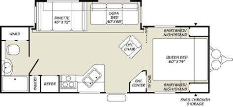 Fleetwood Travel Trailers Floor Plans by 2007 Fleetwood Wilderness Travel Trailer Rvweb Com