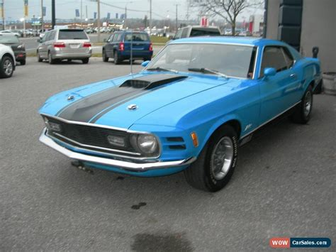 mustangs for sale in canada 1970 ford mustang for sale in canada