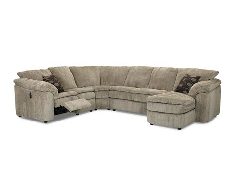 klaussner legacy sectional klaussner legacy left arm reclining love seat and right