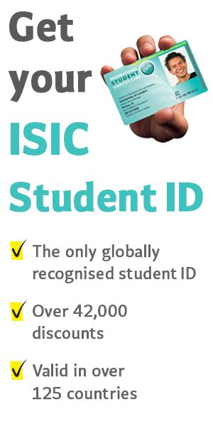 isic card template student travel fcm travel solutions