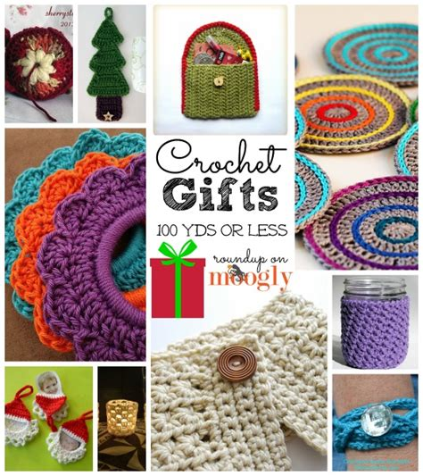 pattern gifts fast gifts 10 free crochet patterns using less than 100