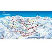 Pistenplan Lech Arlberg  Hotel Goldener Berg