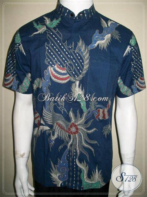 Atasan Pria Kemeja Koko Hem Koko Kemeja Lengan Panjang 100 gambar batik pria kerah shanghai dengan jual kemeja