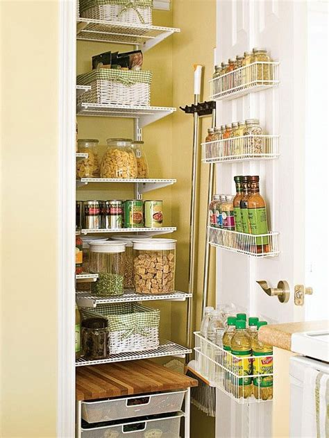 kitchen pantry closet organization ideas small kitchen pantry home ideas pinterest