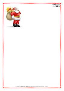 Santa Claus Letter Template by Printable Letter To Santa Claus Paper Blank Santa Presents 8