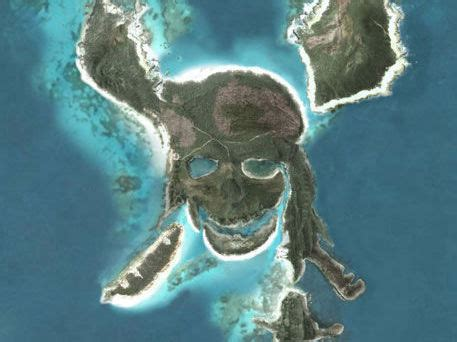 imagenes terrorificas en google earth la isla de piratas del caribe en google earth taringa