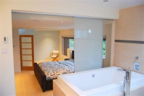 bathroom in bedroom ideas bedroom and bathroom 2 in 1 suites clever combos or risky designs