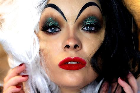 tutorial makeup halloween indonesia cruella de vil makeup tutorial cruella pinterest