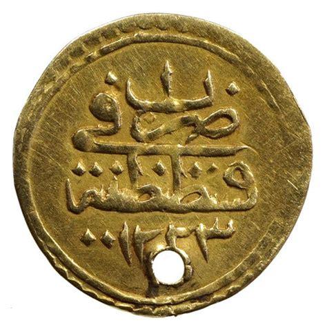 ottoman empire gold coins ottoman empire gold coin as a pendant catawiki