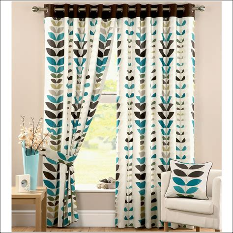 cream teal curtains teal cream and brown curtains curtains home design