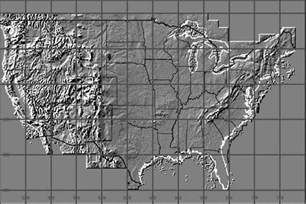 elevation map of us map travel holidaymapq
