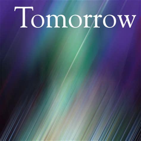 tomorrow 171 s reflections
