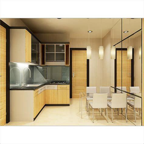 Interior Elegan Minimalistkicthen Set Dapur Exclusife l shaped modular kitchen installation l shaped modular