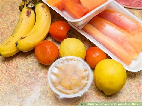 fruit wrinkles 3 ways to remove wrinkles with fruit wikihow