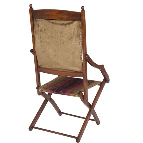 stylish folding chairs stylish edwardian folding caign chair the unique seat