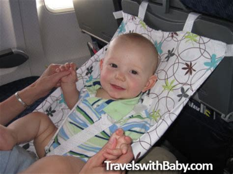 Airplane Hammock For Baby review of flyebaby travels with baby