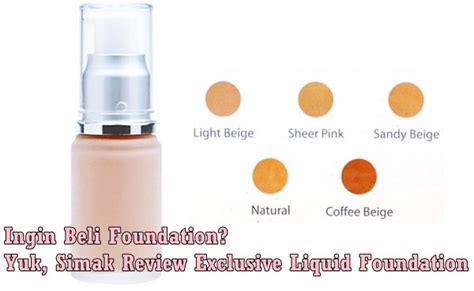 Bedak Wardah Exclusive Foundation kataemak