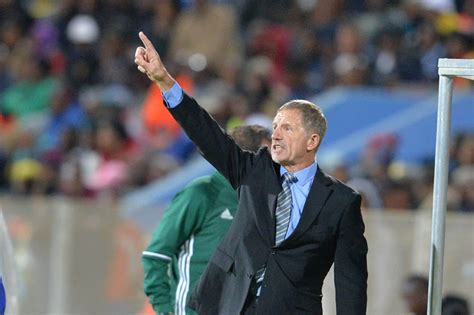 bafana coach stuart baxter reacts  african nations cup draw