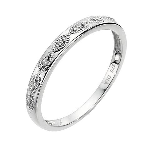 9ct white gold eternity ring ernest jones
