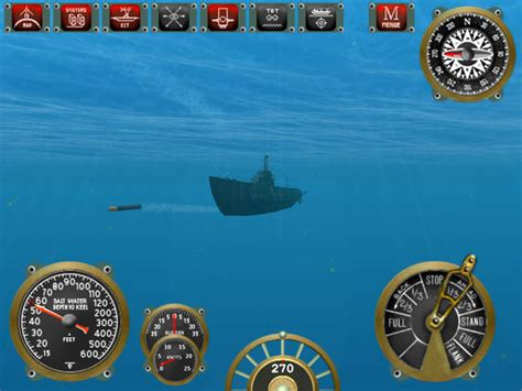 u boat simulator ipad silent depth u boot simulation im app store