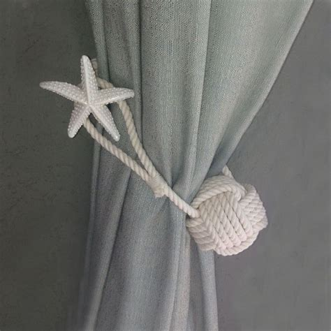 nautical curtain tie back hooks 9 best images about nautical drapery tie backs on pinterest