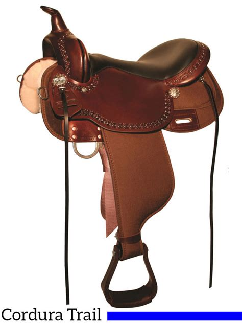 the wire horse western saddles circle y tucker tex 13 quot to 17 quot high horse willow springs cordura trail saddle