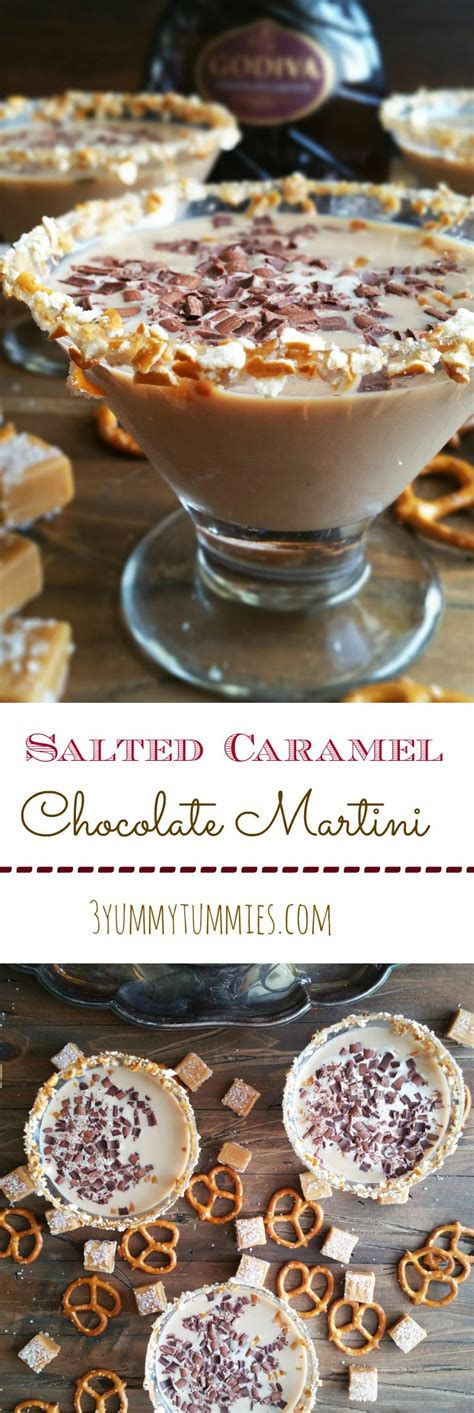 chocolate caramel martini salted caramel chocolate martini 3 yummy tummies