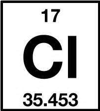Cl Element Periodic Table by Chlorine On The Periodic Table Www Pixshark Images